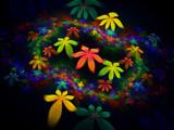Flowers In Flight III by Joanie, Abstract->Fractal gallery