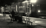 A Station near Chicago by Fifthbeatle, contests->b/w challenge gallery