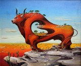 Taurus by koca, illustrations->traditional gallery