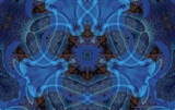Blue Pusher by Flmngseabass, abstract gallery