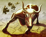 Bull by danimal, Illustrations->Traditional gallery