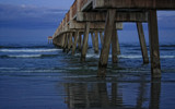 Pier at Dusk by tweir, photography->shorelines gallery