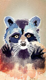 A Raccoon Day by bfrank, illustrations gallery