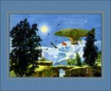 A Dirigble by Trevorcardigan, Illustrations->Traditional gallery