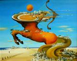 Sagittarius by koca, illustrations->traditional gallery