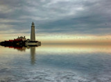Twilight time by biffobear, photography->lighthouses gallery