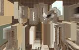 Skyscrapers Serenade by Flmngseabass, abstract gallery