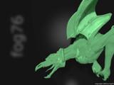 Green Gargoyle by fog76, Computer->3D gallery