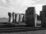 Stonehenge in monochrome by glowwormeh, Photography->Places of worship gallery