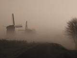Mills in the fog by Paul_Gerritsen, Photography->Mills gallery