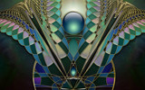 Stained Glass Design April 22 by nmsmith, Abstract->Fractal gallery