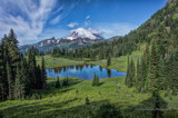 Mt.Rainier from Lake Tipsoo by DigiCamMan, photography->mountains gallery