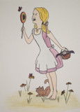 What Are Little Girls Made Of? by Shananagins, Illustrations->Traditional gallery
