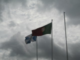 Flags on gray day .... by apofix, Photography->Action or Motion gallery