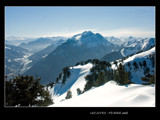 The Alps in winter #2 by ppigeon, Photography->Mountains gallery