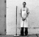Smoke Break by LakeMichigan, contests->b/w challenge gallery