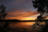 Nightfall on Spider Lake by Silvanus, photography->sunset/rise gallery