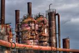 Gasworks by DigiCamMan, photography->manipulation gallery