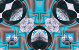 Turquoise Turnabout by Flmngseabass, abstract gallery
