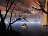 Faraway Home by WENPEDER, Computer->Landscape gallery