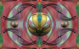 Joseph and the Amazing Technicolor Dreamcoat by Flmngseabass, abstract gallery