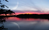 Lake of the Woods ~ Sunset 8-16-08 by DeathScytheG, Photography->Manipulation gallery
