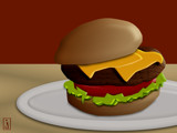 You Want Fries with That? by Jhihmoac, Illustrations->Digital gallery