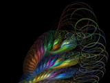 Rainbow In The Dark by Hottrockin, Abstract->Fractal gallery