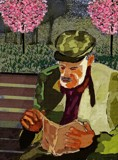 This Old Man Sat Reading On A Bench by bfrank, illustrations gallery