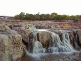 Twilight at Falls Park by kidder, Photography->Waterfalls gallery