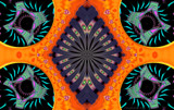 Creamsicle Parade by Flmngseabass, abstract gallery