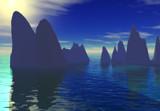 Aqua light by Retrostylz, Computer->Landscape gallery