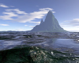 Swamped Mountain by timw4mail, Computer->Landscape gallery