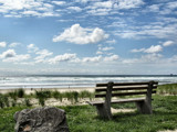 Beach Series: Part 3..Ocean View From A Bench by verenabloo, Photography->Shorelines gallery
