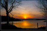 Sunset Over Lake Of Veere 2 by corngrowth, photography->sunset/rise gallery