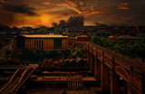 High Level Sunset by biffobear, photography->sunset/rise gallery