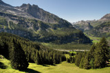 Oeschinensee downhill to Kandersteg by Paul_Gerritsen, Photography->Mountains gallery