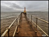 Amble Pier by Dunstickin, photography->shorelines gallery