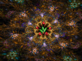 A Christmas Wreath by jswgpb, Abstract->Fractal gallery
