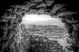 Looking Out From Tuzigoot by gr8fulted, contests->b/w challenge gallery