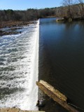 Haw River Dam by ccmerino, photography->waterfalls gallery