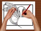 Artist At Work by bfrank, illustrations->digital gallery