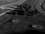 Crop Circles? (b/w version) by mesmerized, contests->b/w challenge gallery