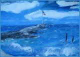 Now at Scribners restaurant ,Anchor Beach - Milford Ct by rotcivski, illustrations gallery