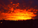 Clouds On Fire by corngrowth, Photography->Sunset/Rise gallery