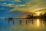 Fishing at the Close of the Day by gr8fulted, photography->sunset/rise gallery