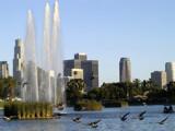 Echo Park Lake by bikolnon, Photography->Landscape gallery