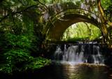 Bridge over water..... by biffobear, photography->waterfalls gallery