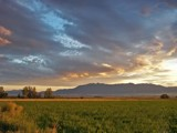 Sunset - Wellsville Mountain Range, Utah by nmsmith, Photography->Mountains gallery