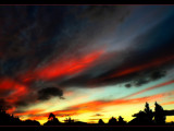 Sun Painted Sky by LynEve, Photography->Sunset/Rise gallery